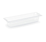 "Vollrath 8054410 Half-Size Long Food Pan - 4"" Deep, Low-Temp, Clear Poly"