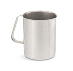 Vollrath 81020 2-qt Pitcher with Ice Guard - Straight-Sided, Stainless