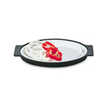 Vollrath 81170 Oval Steak Platter with Underli