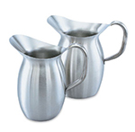 Vollrath 82040 4-1/8-qt Bell-Shaped Pitcher - Stainless