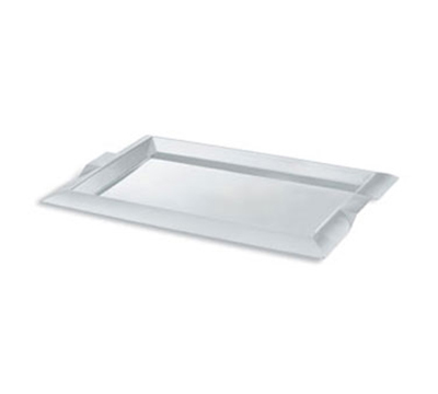 "Vollrath 82095 Rectangular Serving Tray with Handles - 12x21"" Stainless"