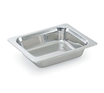 "Vollrath 8230705 3.4-qt Plain Half Size Rectangular Pan - 2-3/4"" Deep, Stainless"