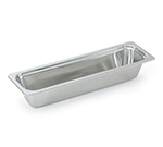 "Vollrath 8230905 4.4-qt Plain Half Size Long Rectangular Pan - 20-15/16x6-Halfx4"" Stainless"