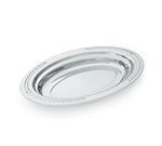 "Vollrath 8231420 3-qt Decorative Oval Foodpan - 19-1/16x11-7/8x2"" Mirror-Finish Stainless"