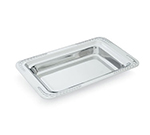 "Vollrath 8231520 4.1-qt Decorative Rectangular Foodpan - 19-1/2x12x2-1/4"" Mirror-Finish Stainless"