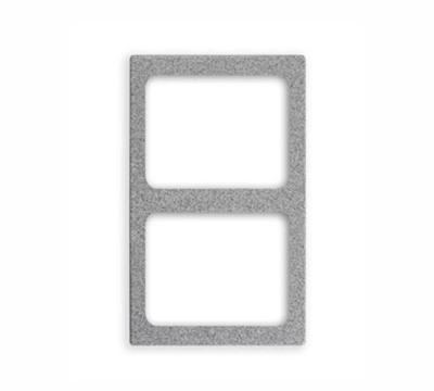 "Vollrath 8244114 Miramar (2)Half-Size Pan Template - 12x20"" Stainless"