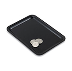 "Vollrath 86280 Laminated Tip Tray - 4x6"" Black"