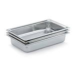 Vollrath 90082 Full-Size Steam Pan, Stainless