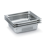 Vollrath 90053 Super Pan 3 Full-Size Perforated Steam Pan, Stainless