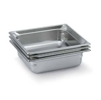 Vollrath 90182 Two-Third Size Steam Pan, Stainless