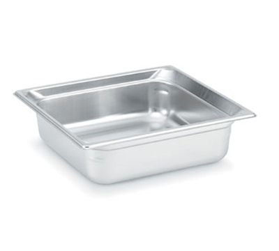 Vollrath 90142 Two-Third Size Steam Pan Cover, Stainless