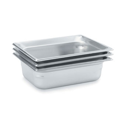 Vollrath 90212 Half-Size Steam Pan, Stainless