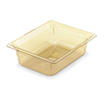 "Vollrath 9022410 Half-Size Hot Food Pan - 2-1/2"" Deep, Amber"
