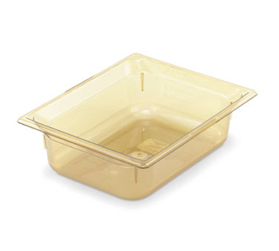 "Vollrath 9028410 Half-Size Hot Food Pan - 8"" Deep, Amber"