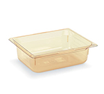 "Vollrath 9024410 Half-Size Hot Food Pan - 4"" Deep, Amber"