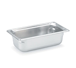 Vollrath 90352 Third-Size Steam Pan, Stainless