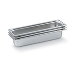 Vollrath 90512 Super Pan 3 Half-Size Long Steam Pan, Stainless