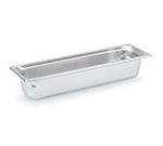Vollrath 90542 Super Pan 3 Half-Size Long Steam Pan, Stainless