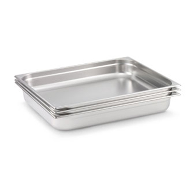 Vollrath 92042 Double-Size Steam Pan, Stainless