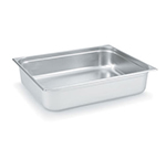 Vollrath 92062 Super Pan 3 Double-Size Steam Pan, Stainless