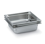 Vollrath 92082 Super Pan 3 Double-Size Steam Pan, Stainless