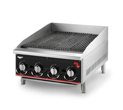 "Vollrath 936CG 36"" Heavy-Duty Charbroiler - Manual Control, 120,000 BTU LP"