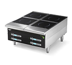Vollrath 924HIDC Countertop Commercial Induction Cooktop w/ (4) Burners, 208-240v/1ph