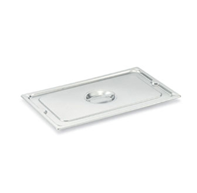 Vollrath 93300 Third-Size Steam Pan Cover, Stainless