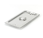 Vollrath 94900 Ninth-Size Steam Pan Slotted Cover, Stainless