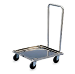 Vollrath 97190 Square Rack Dolly - 200-lb Capacity, Solid Platform, Stainless