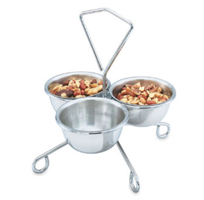 Vollrath 69290 14-oz Condiment Rack Bowl - Stainless