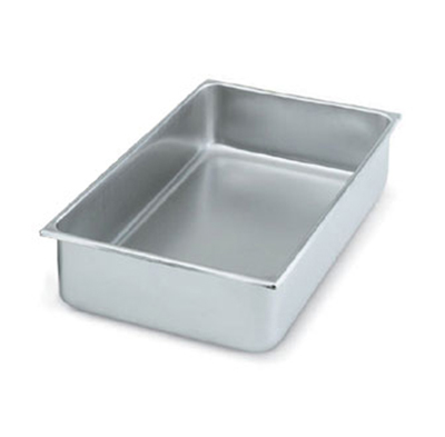 Vollrath 99740 Full-Size Water Pan - Straight-Sided, Stainless
