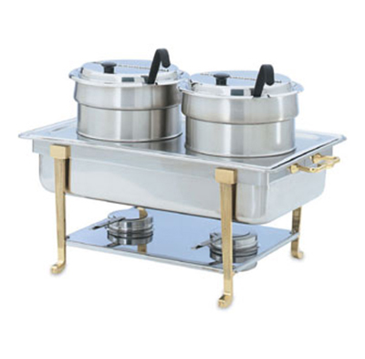 Vollrath 99880 Full-Size Chafer Double Soup Buffet Accessory Kit - Stainless