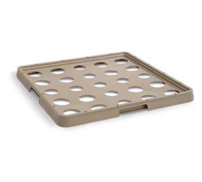 Vollrath TR-ICE-25 Full-Size Rack-Master Ice Filler - 25-Compartment, Beige