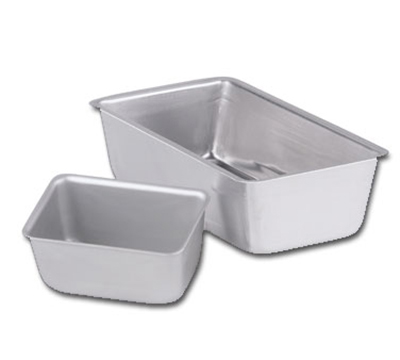 "Vollrath 51008 Loaf Pan - 9-1/4x5-1/4x2-3/4"" Aluminum"