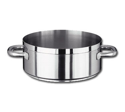 Vollrath 3304 4-1/2-qt Induction Casserole Brazier Pan - Aluminum Bottom, 18-ga Stainless