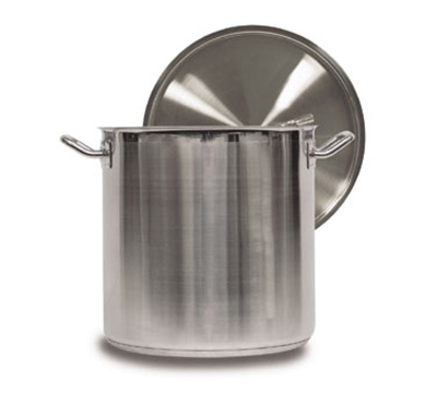 Vollrath 3513 53-qt Stock Pot w/ Cover - Induction Compatible, Stainless