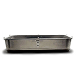 "Vollrath 448212 Roaster Bottom w/ Looped Handles - 16x20x4-1/2"", Aluminum"