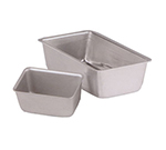"Vollrath 5431 1-lb Loaf Pan - 3-3/8x5x2-1/2"" Aluminum"