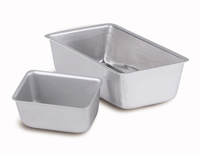 Vollrath 5436 2-lb Loaf Pan - Aluminum