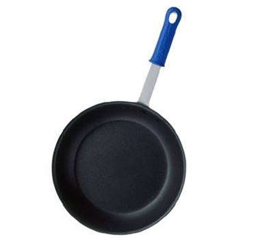 "Vollrath EZ4007 7"" Wear-Ever Fry Pan - CeramiGuard Non-Stick, Silicone Handle, Aluminum"