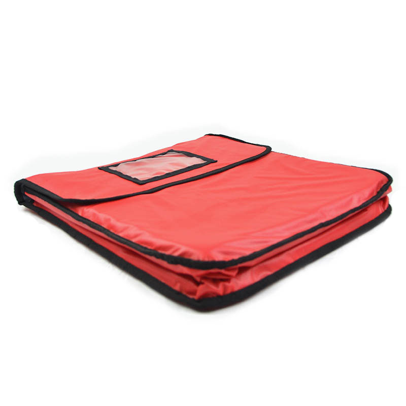 Intedge IPK-2 W Pizza Delivery Pouch - 18 x 5 - Wine