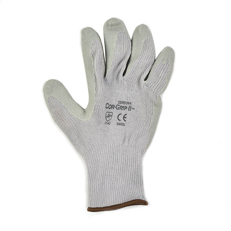 Intedge 2911 Kevlar Oyster Shucker Glove w/ Neutral Rubber Palm, One Size