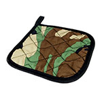 Intedge 317-CAMO Camouflage Pot Holder, 8 x 8""