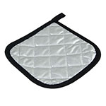 Intedge 317S Teflon Potholder, 7 x 7-in, Silver