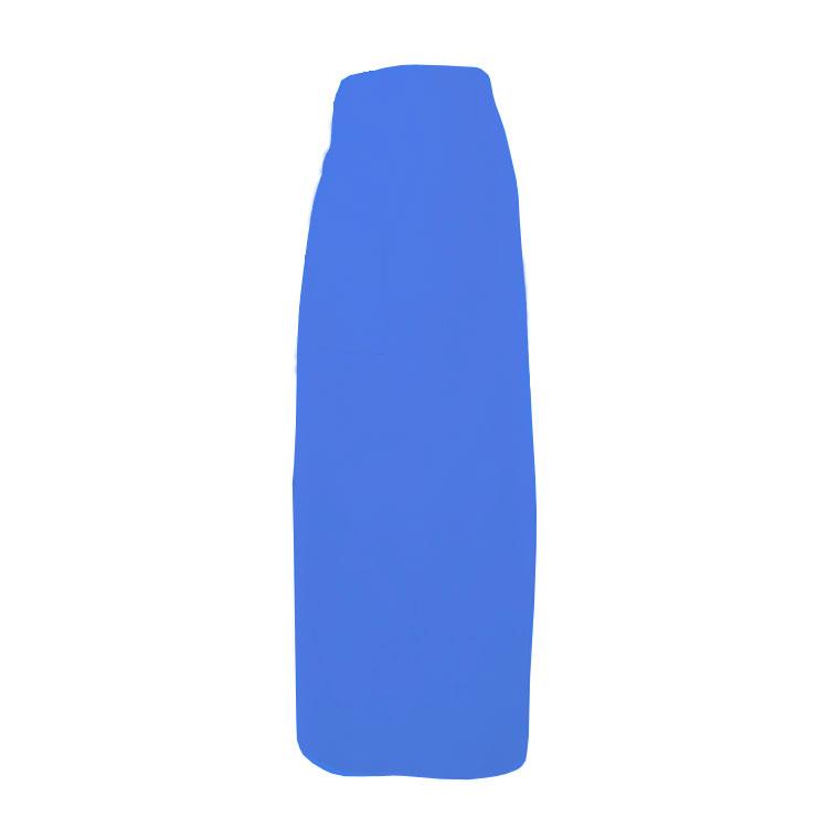"""Intedge 334-1 BLU Bistro Apron w/ 1-Pocket, 38 x 33.5"""", Royal Blue"""