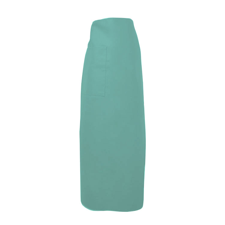 "Intedge 334-1 HG Bistro Apron w/ 1-Pocket, 38 x 33.5"", Hunter Green"