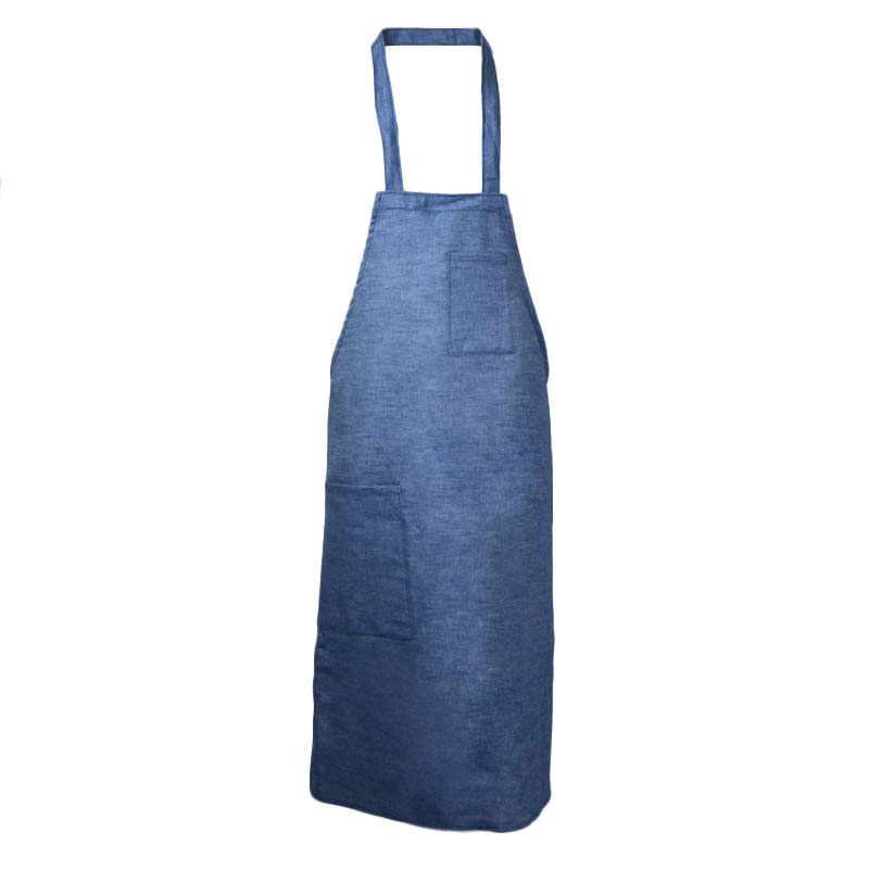 Intedge 335DE Deluxe Apron, Pockets, Bib, Denim