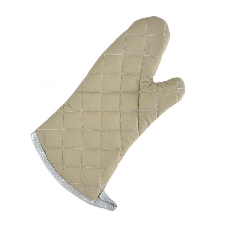 Intedge 33615 Oven Mitts, 15 in Flame Retardant