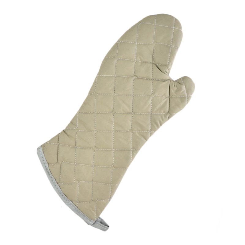 Intedge 33617 Oven Mitts, 17 in, Flame Retardant